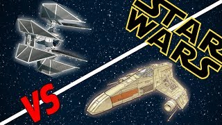 Download Tie Defender vs E-Wing Escort Starfighter | Star Wars: Who Would Win Video