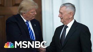 Download Ex-Officer: James Mattis Left 'My Men To Die' In Afghanistan | MSNBC Video