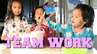 Download TEAM WORK MAKES THE DREAM WORK! - November 17, 2016 - ItsJudysLife Vlogs Video