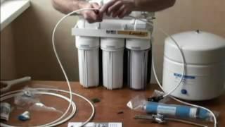 Download Установка фильтра для воды обратного Осмоса Video