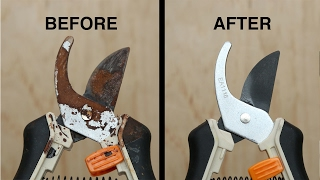 Download How To Remove Rust From Garden Tools Video