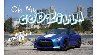 Download 2020 Nissan GT-R 50th Anniversary Review - I Get to Drive Godzilla Video