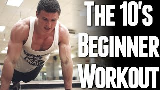 Download The 10's Beginner Workout (Body Weight Only) Video