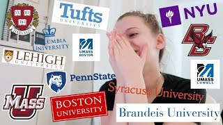 Download i applied to 18 schools... here's what happened // College Decision Reactions 2019 Video