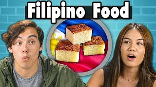 Download Teens Try Filipino Food | People Vs. Food Video