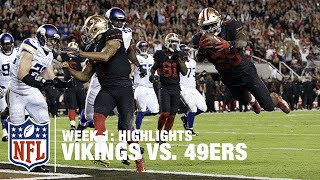 Download Vikings vs. 49ers | Week 1 Highlights | NFL Video
