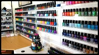 Download EPIC Nail Polish Collection & Storage!!! Video
