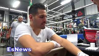 Download Jose Ramirez Reveals Which Spanish Singer Is Going To Walk Him Out For His Next Fight EsNews Boxing Video