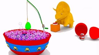 Download Learn colors with the bubble bath and Dino the Dinosaur | Educational cartoon for children & toddler Video
