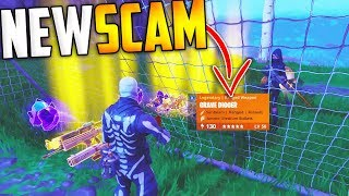 Download *NEW SCAM* The Soccer Goal Scam BEWARE! Scammer Gets Exposed In Fortnite Save The World Video