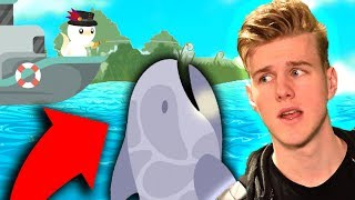 Download CATCHING THE BIGGEST SHARK!!! (Cat Goes Fishing) Video