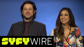 Download The Magicians' Hale Appleman & Summer Bishil, Best S3 Lines & When Margo Was Southern | SYFY WIRE Video