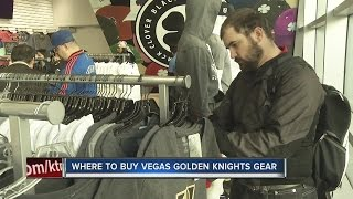 Download Vegas Golden Knights merchandise flying off the shelves Video