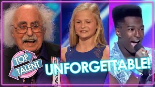 Download UNFORGETTABLE TOP AUDITIONS On Got Talent & X FACTOR | Top Talent Video