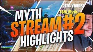 Download TSM Myth - STREAM HIGHLIGHTS #2 (Fortnite Battle Royale) Video