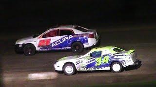 Download Mini Stock Feature | McKean County Raceway | 9-30-17 Video