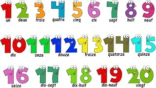 Download French Lesson - NUMBERS 1-20 - Compter jusqu'à 20 - Learn French Video