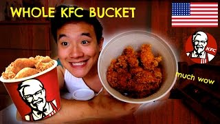 Download Whole Bucket of KFC Chicken :: MUKBANG WITH BEN EP27 Video