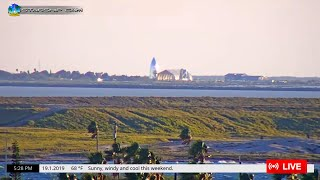 Download STARSHIP CAM - Live View of Starship Hopper Launch Tests at SpaceX Boca Chica Video