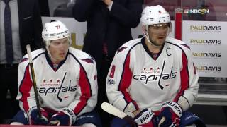 Download Great effort by Ovechkin finished off by Oshie Video