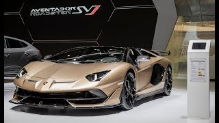 Download 2020 Lamborghini Aventador SVJ Roadster – Walkaround / 800 units / $573,966 Video