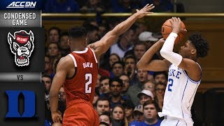 Download North Carolina State vs. Duke Blue Devils Condensed Game | 2018-19 ACC Basketball Video