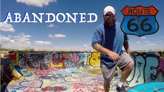 Download Route 66 Abandoned Ruins! ~ Twin Arrows, Two Guns, Craters Video