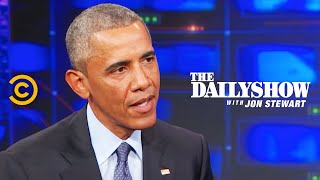 Download The Daily Show - Exclusive - Barack Obama Extended Interview Video