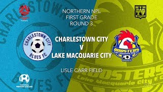 Download 2019 NPL Northern NSW u20s and 1st Grade - Round 3 - Charlestown City v Lake Macquarie Video