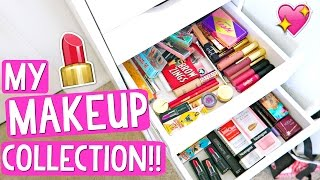Download MY MAKEUP COLLECTION + STORAGE!!!! Alisha Marie Video