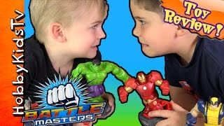 Download Masters with Hulk and Iron Man Video
