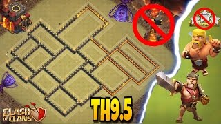 Download NEW ″UNBEATABLE″ TOWN HALL 9.5 (TH9.5) [2017] WAR BASE WITH NO INFERNOS!! |Clash of Clans Video