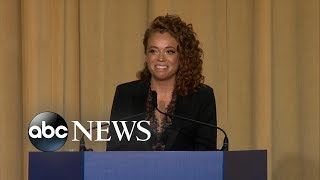 Download Michelle Wolf performs stand-up routine at White House Correspondent's dinner Video