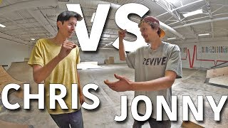 Download ANYTHING ON FLATGROUND COUNTS | CHRIS CHANN VS JONNY GIGER Video