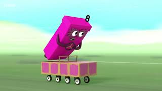 Download Numberblocks Numberblock Rally S03E12 2018 learn the number Preschool animation Video