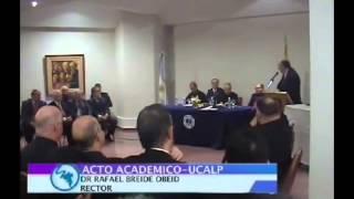 Download P. Alfredo Sáenz - Doctor Honoris Causa de la UCALP Video