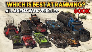 Download GTA 5 ONLINE : WHICH IS BEST AT RAMMING? (ALL ARENA WAR VEHICLES) [600K SPECIAL] Video
