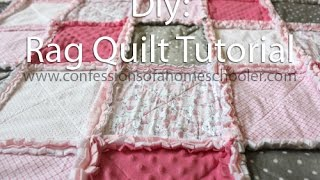 Download How to make a Rag Quilt Tutorial Video