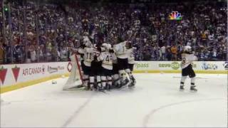 Download Bruins-Canucks Game 7 Cup Finals Highlights Goucher & Beers call 6/15/11 Video