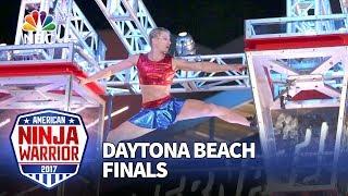 Download Jessie Graff at the Daytona Beach City Finals - American Ninja Warrior 2017 Video