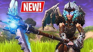 Download 🔴 Fortnite *NEW* Legendary Valkyrie Skin & Dragon Glider!! (Fortnite Battle Royale) Video