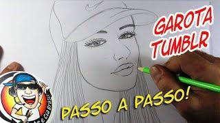 Download COMO DESENHAR GAROTA TUMBLR COM BONÉ - PASSO A PASSO Video