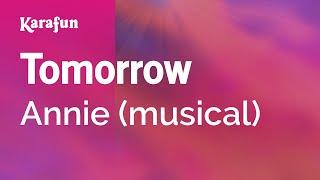 Download Karaoke Tomorrow - Annie * Video