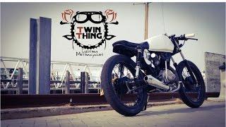 Download Honda CG 125 - Cafe Racer custom - twinthing.co.uk Video