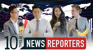 Download 10 Types Of News Reporters Video