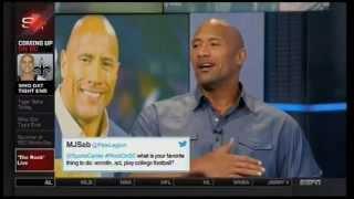 Download The Rock talks Muhammad Ali, John Cena, WWE comeback, Lebron, Hercules on Sportscenter 7/15/2014 Video