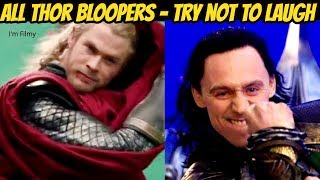 Download All Thor Bloopers and Gag Reel - Avengers Series Included - Chris Hemsworth & Tom Hiddleston Video