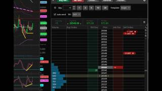 Download Live Trade - YM - Dow Mini Futures Video
