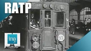 Download Le métro parisien en 1950 | Archive INA Video