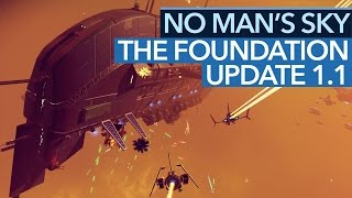 Download No Man's Sky: The Foundation - Video: Update 1.1 mit Frachter- und Basenbau ausprobiert Video